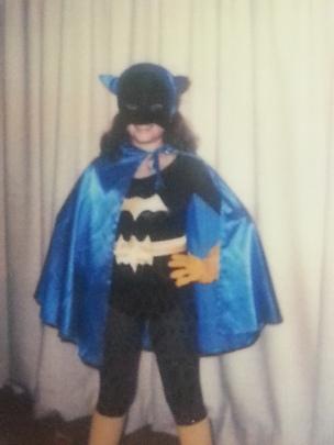 Batgirl 4th Grade Halloween