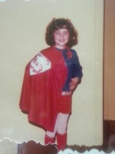 Supergirl 1st Grade Halloween
