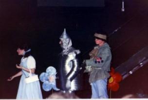 Dorothy in Wizard of Oz School Musical 1989